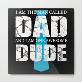 Father Father's Day Dad Dad Metal Print