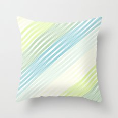 Sweet Streak Throw Pillow
