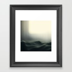 a sea of bed covers ...  Framed Art Print