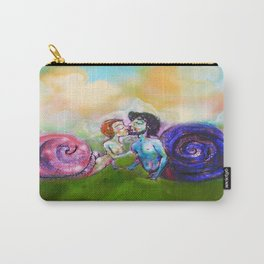 snails kiss Carry-All Pouch
