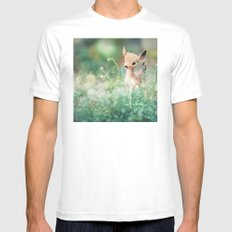 Frolic MEDIUM White Mens Fitted Tee