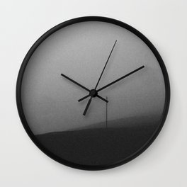 minimal fog Wall Clock