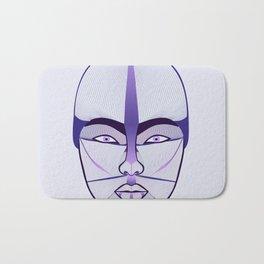 purple geisha Bath Mat