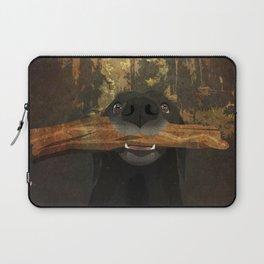 Playful Labrador Laptop Sleeve