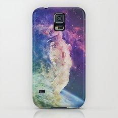 Astronaut dissolving through space Slim Case Galaxy S5