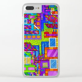 Overblock Clear iPhone Case