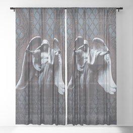 Guardian Angel Sheer Curtain