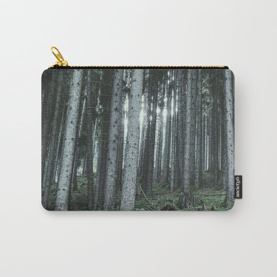 Woodland, Forest, Trees Carry-All Pouch