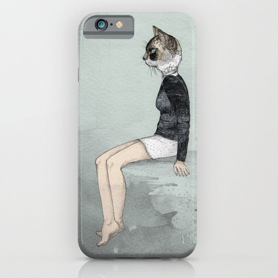 Cat Woman iPhone & iPod Case
