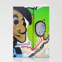 grafitti Stationery Cards featuring Grafitti Boy by Paulbo