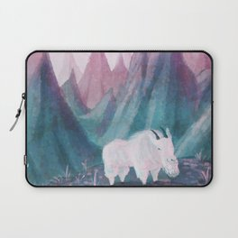 Smug Mountain Goat Laptop Sleeve