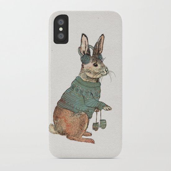 Rabbit iPhone Case