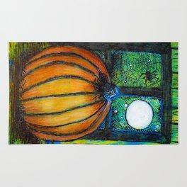 Moonlit Pumpkin Rug