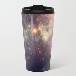 Galaxy Breasts Mauve Teal Travel Mug