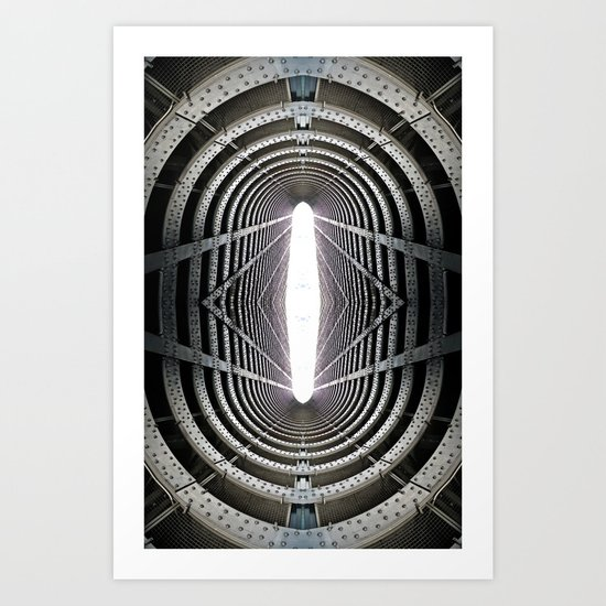 Riveting  Art Print