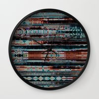 copper Wall Clocks featuring Copper by allan redd