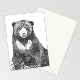Malayan Sun Bear (Beruang Madu) Stationery Cards