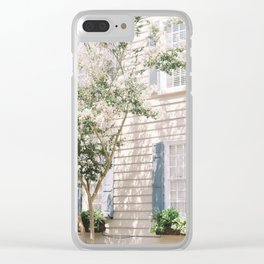 Charleston Dreamy Florals Clear iPhone Case