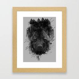 Young Predator Framed Art Print