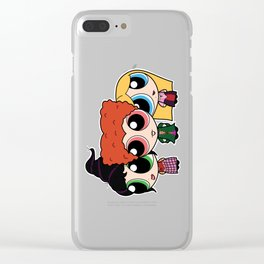 HOCUS POCUS PUFF GIRLS Clear iPhone Case
