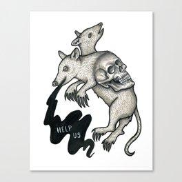 Help Us Canvas Print