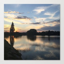 EveningInMoravia Canvas Print