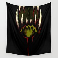 howl Wall Tapestries featuring Howl by Jesse G.
