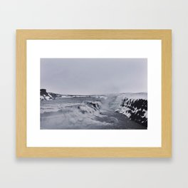 Almost Arctic Framed Art Print