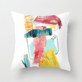 Let's Get Together Throw Pillow