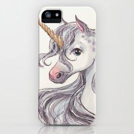 Dappled Unicorn iPhone Case