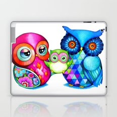 Owl Parents Laptop & iPad Skin