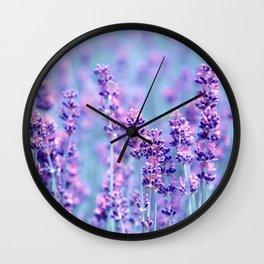 Lavender 110 Wall Clock
