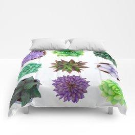 Succulent Friends Comforters