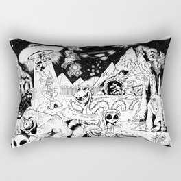 Inktober 2017 Rectangular Pillow