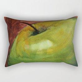 Fresh Green Apple Rectangular Pillow