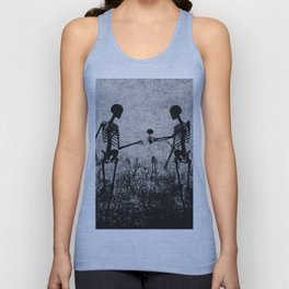 skeleton lovers Unisex Tank Top