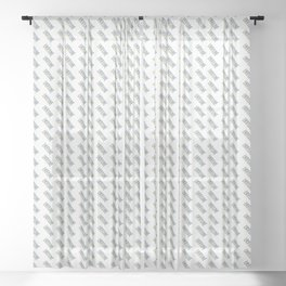 Made In Ukraine Sheer Curtain