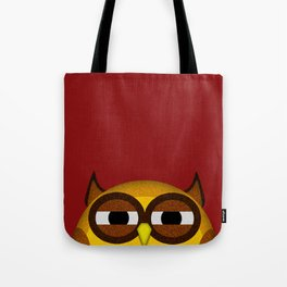 Pocket owl is highly suspicious Tote Bag