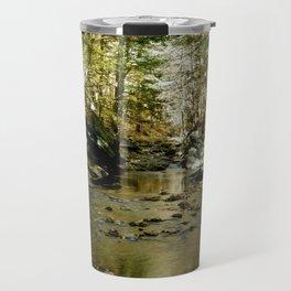 Cobb Brook Waterfall Travel Mug