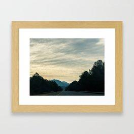 Oak Ridge TN Framed Art Print