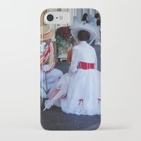 mary poppins iPhone & iPod Cases featuring Mary Poppins by Christa Morgan ☽