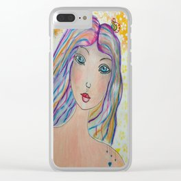 Love Fairy Clear iPhone Case