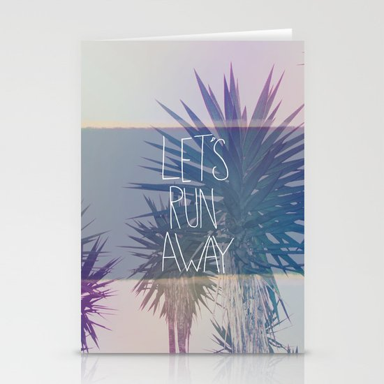 Let's Run Away: Monte Verde, Costa Rica Stationery Cards