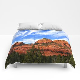 Red Rocks of Sedona Comforters