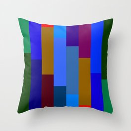 """Technicolor Beat"" Throw Pillow"