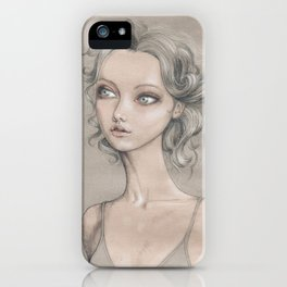 Curly iPhone Case