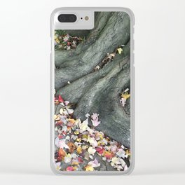 Enchanted Tree Clear iPhone Case