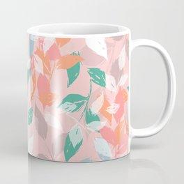 Pretty foliage brush paint design Coffee Mug