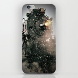The 1225 in the snow. iPhone Skin