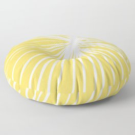 Dandelion in Yellow by Friztin Floor Pillow